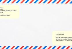 Contoh Amplop Surat Lamaran Kerja Yang Baik Dan Benar Kumpulan