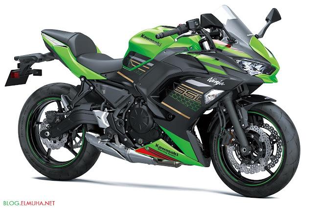 Kawasaki Ninja 650 2020 knalpot underbelly
