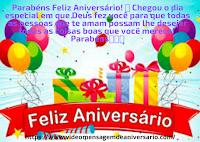 Meus Parabéns Mensagem de Feliz Aniversário