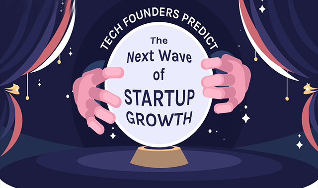 Tech Founders Predict Startup Growth Next Wave #infographic