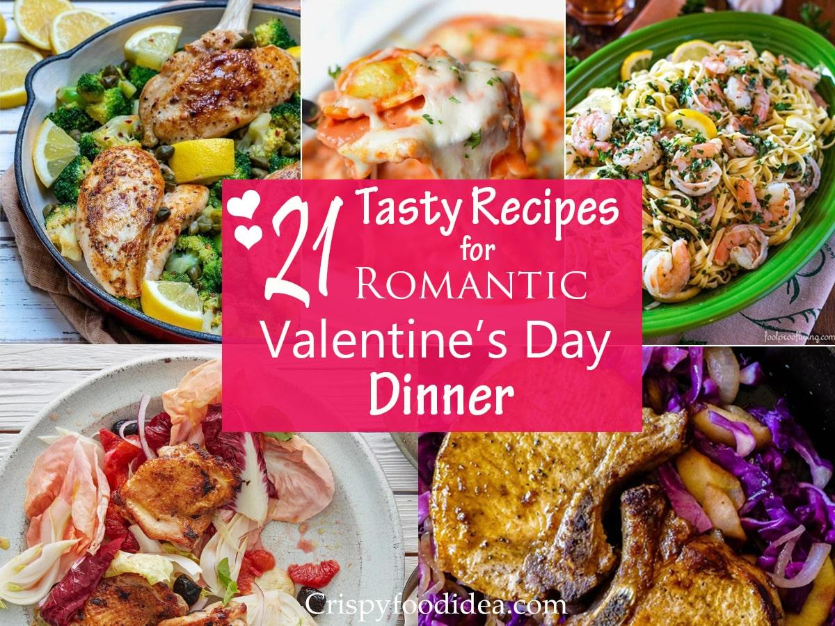 valentine's day dinner recipes