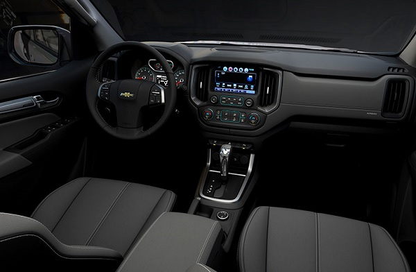 interior Chevrolet S10 2017