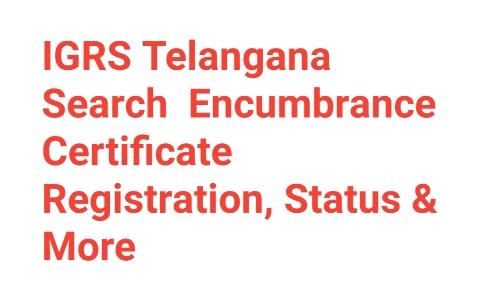 IGRS Telangana Search
