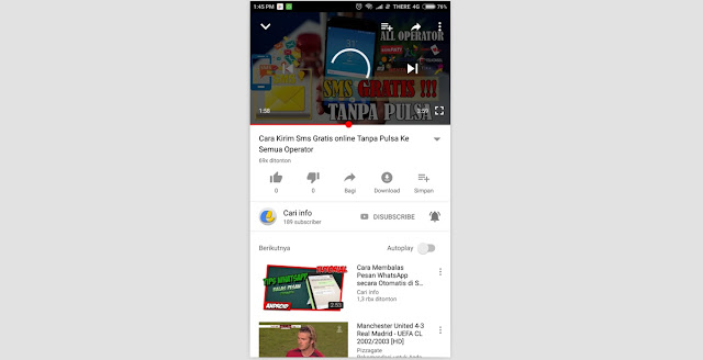Download Video Dari Youtube Ke Galeri