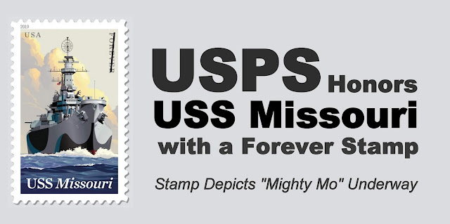 USPS Honors USS Missouri with a Forever Stamp