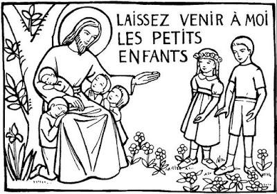 ouvrir la page illustrations jesus et les enfants