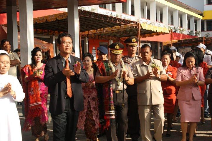 Kapoldasu Warnai Acara Open House dan Pagelaran Seni YPK Budi Murni Medan