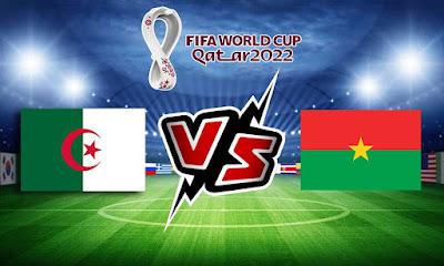 بوركينا فاسو و الجزائر بث مباشر