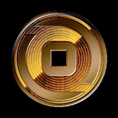 暗号通貨ビットゼニー新ロゴのフリー素材(銅貨ver)