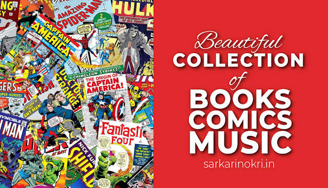 Beautiful collection of Books, Comics and Music