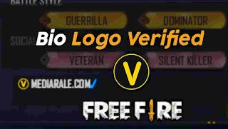 Bio Logo Verified FF