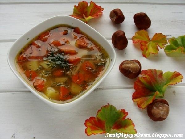 Zupa z koperkiem