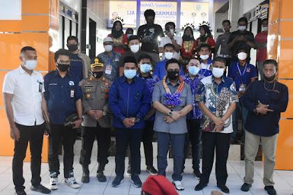 Wakil Bupati Takalar Sambut Kedatangan Muhammad Rapsel Ali di Takalar