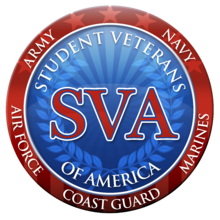 Student Veterans Association Logo and Seal