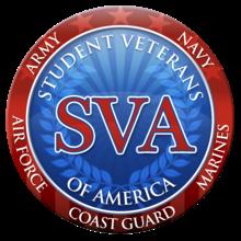 Student Veterans Association Logo and Seal