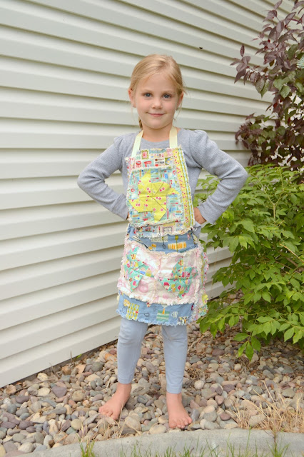 How to Sew an Apron for Girls