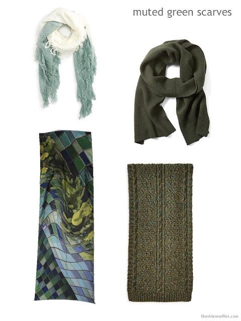 green scarves