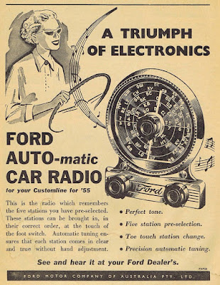 Ford Auto-matic Car Radio