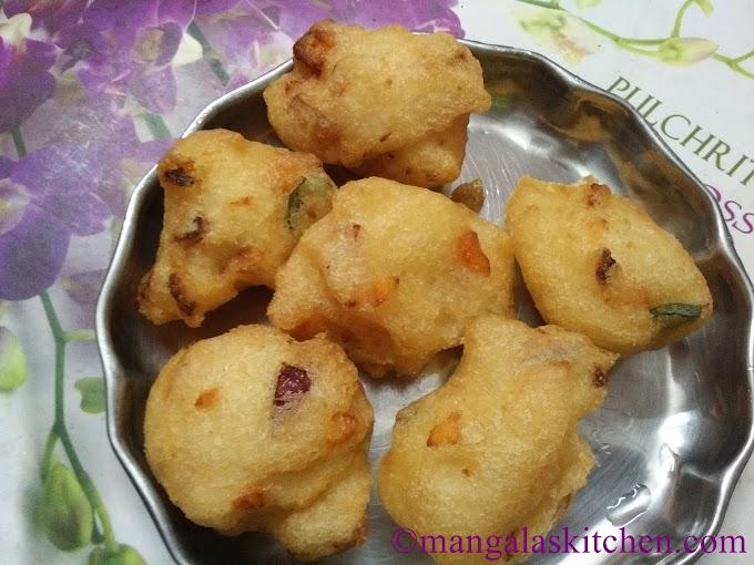 Vegetable Ulundu Bonda | Mixed Vegetable Urad Dal Bonda