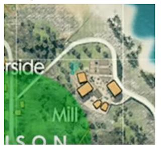 Peta Harta karun FF hari ke 11 di Peta bermuda letaknya wilayah Mill