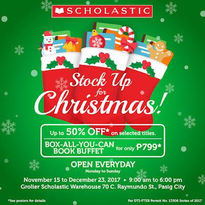 Manila shopper scholastic christmas warehouse sale book for Christmas decs sale