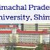 18 Law faculty posts in Himachal Pradesh University, Shimla - last date 30/01/2020
