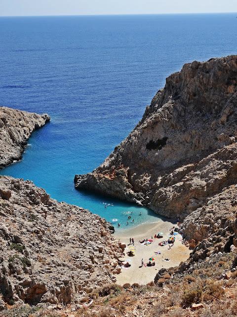 Najpiękniejsze plaże na Krecie Zatoka Szatana