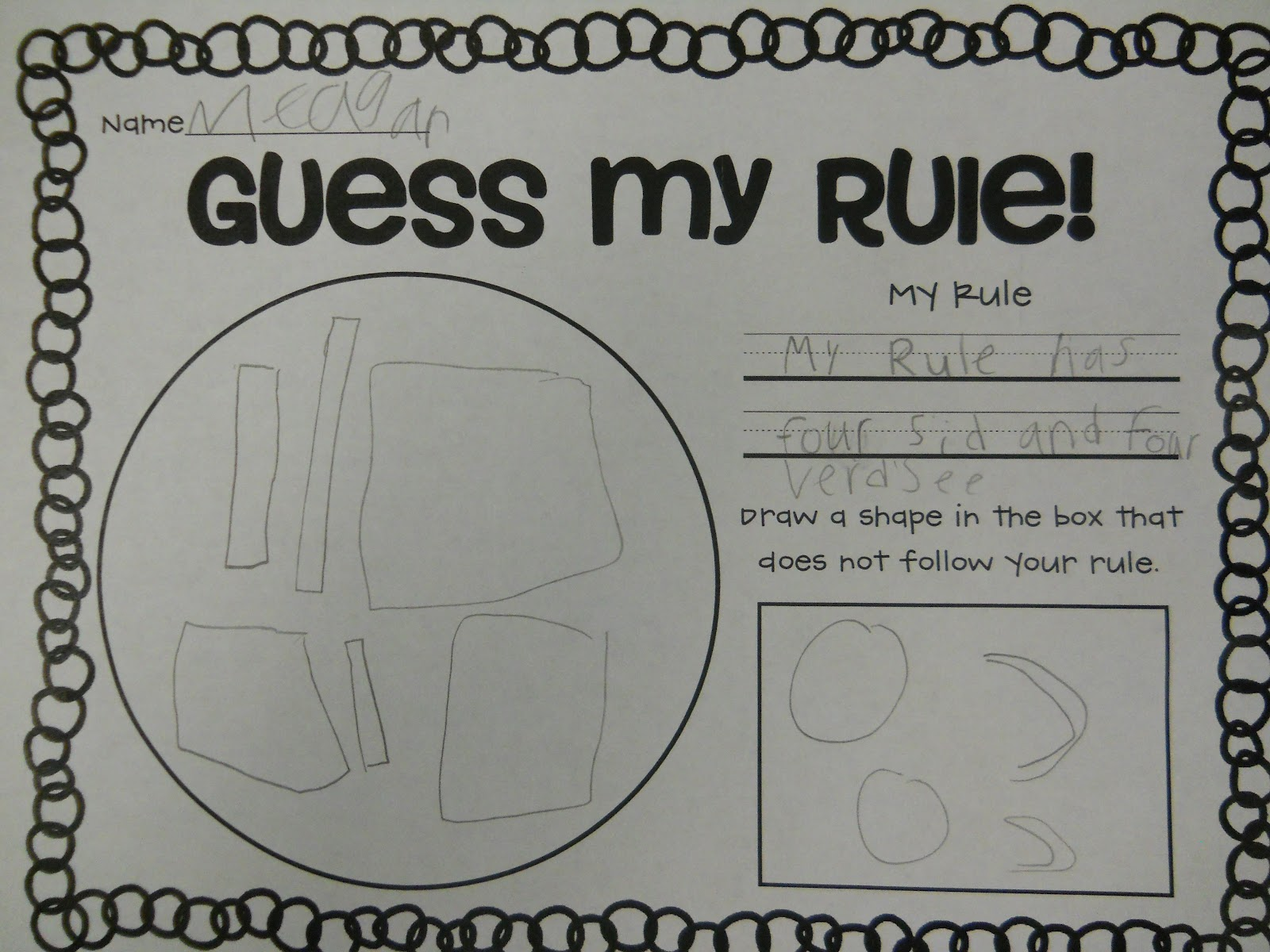 Whats My Rule Worksheet
