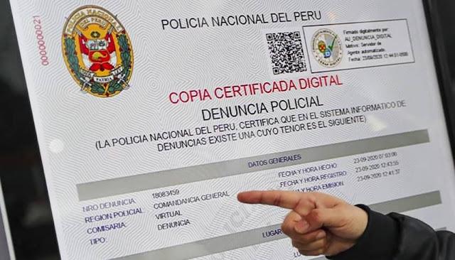 ¿Cómo hacer denuncia policial digital por perdida de DNI?: cinco pasos para obtener copia certificada policial