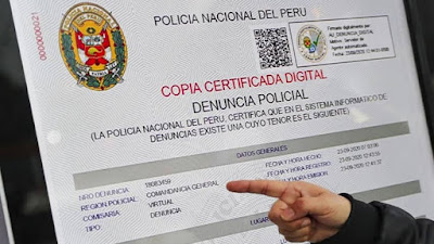 ¿Cómo hacer denuncia policial en linea por perdida de DNI?: cinco pasos para obtener tu copia certificada gratis