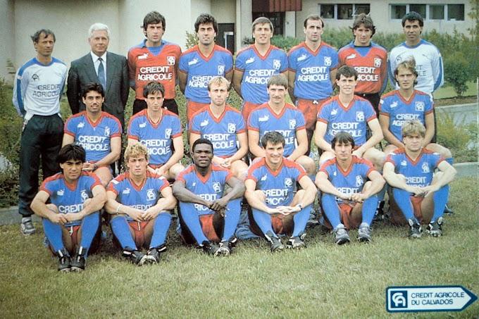 S.M CAEN 1986-87.