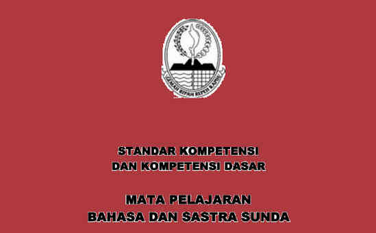 Administrasi Guru Bahasa Sunda SMP KTSP Kelas 7 8 9 Lengkap