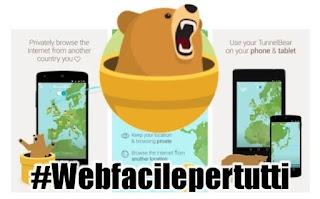 Tunnel Bear | Applicazione per nascondere il numero IP su Android