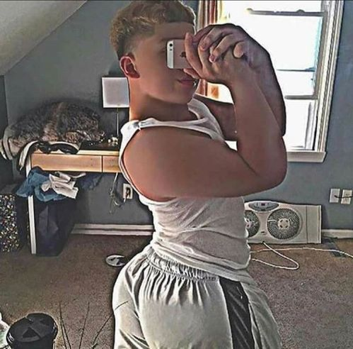Cute boy ass