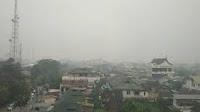 Ratusan Warga  Ketapang Terserang ISPA Akibat Kabut Asap