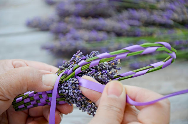 How to Weave Aromatic Lavender Baskets