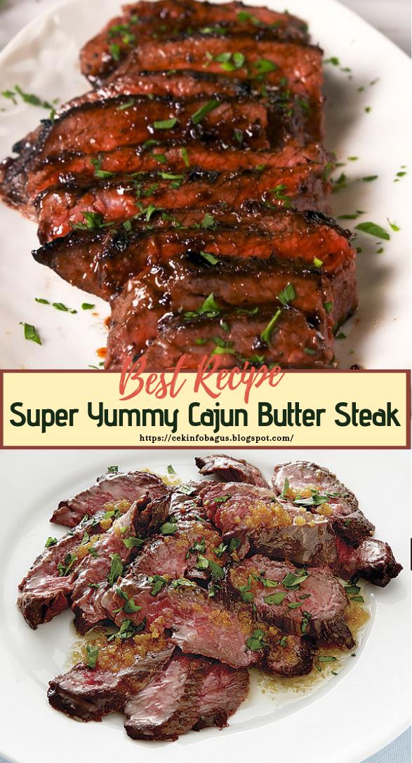 Super Yummy Cajun Butter Steak #dinnerrecipe #food #amazingrecipe #easyrecipe