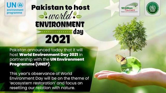 WORLD ENVIRONMENT DAY 2021 THEME