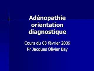 Adénopathie orientation diagnostique .pdf