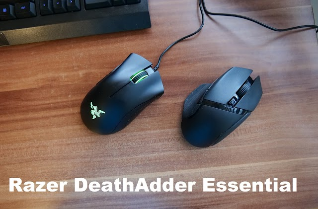 Initial review of the Razer DeathAdder Essential mouse