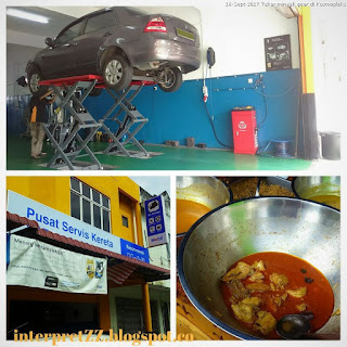 pergi tukar minyak gear manual SAGA BLM di SY TYRES AND SERVICES di Salak Tinggi