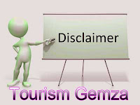 Disclaimer of Tourism Gemza