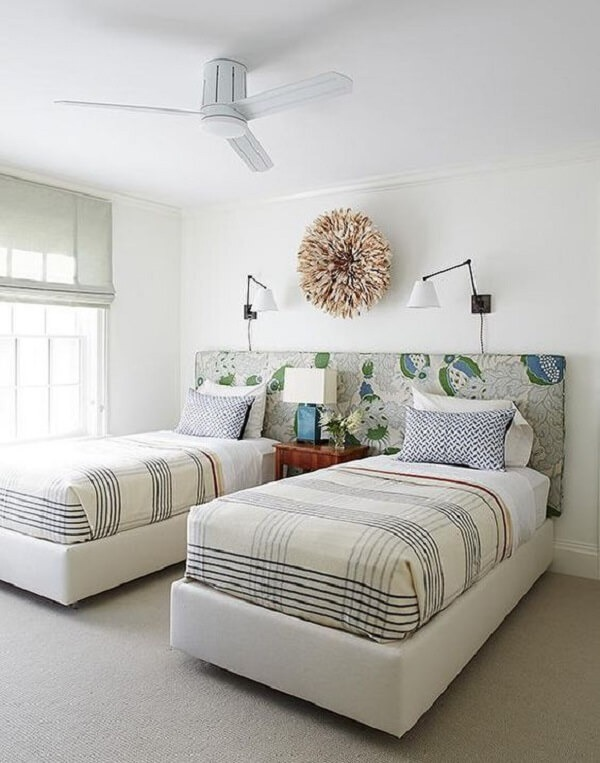 Widow's bed for double room