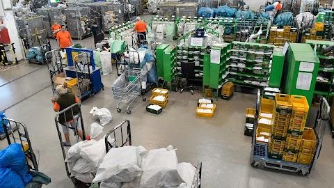 Bővítette csomagfeldolgozási területeit a Magyar Posta