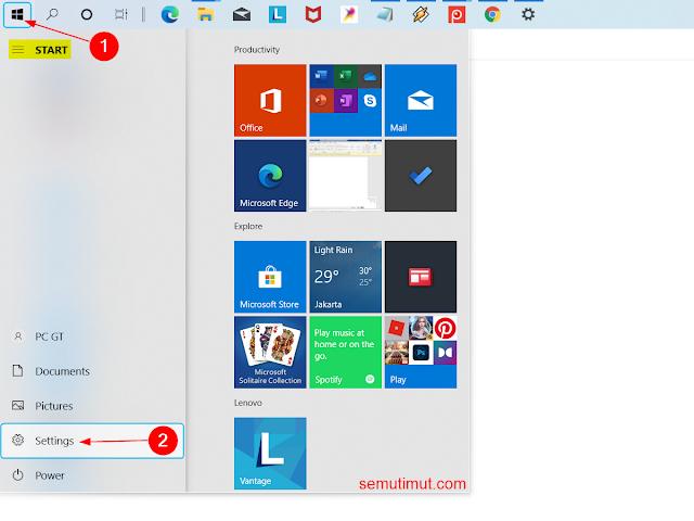 cara reset network windows 10