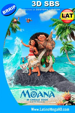 Moana: Un Mar de Aventuras (2016) Latino 3D SBS 1080P ()