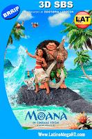 Moana: Un Mar de Aventuras (2016) Latino 3D SBS 1080P - 2016