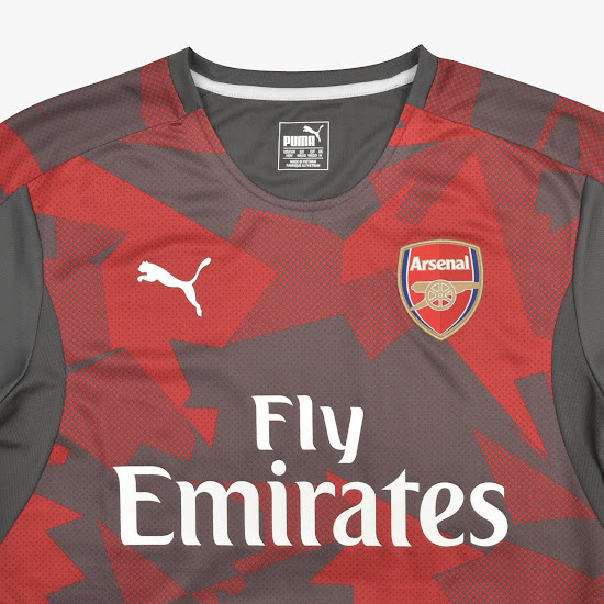 The new Arsenal 2017-2018 Camo Home Jersey is Arsenal s new pre-match  jersey and retails at just 38 GBP. 80743e8bd