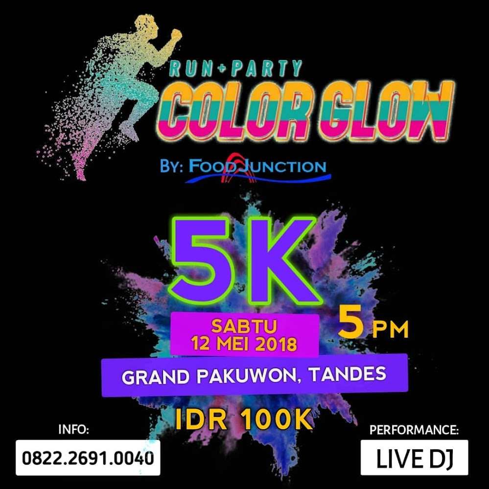Color Glow Run + Party • 2018