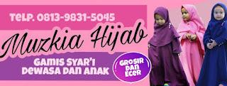 gamis muzkia hijab karawang